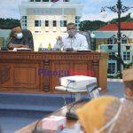 Eduart Wolok saat bertemu Sekda Provinsi Gorontalo