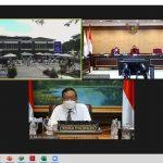 Secara Virtual Mahfud MD Resmikan Gedung Mall Pelayanan Publik Kabupaten Bone Bolango