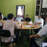 Ketua Halid Tangahu Menerima Kunjungan Dekab Minsel