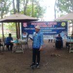 Bupati Hamim Pou memberikan sambutan pada kegiatan ngobras bersama pelaku pertanian dan peternakan