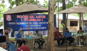 Bupati Bonebol Hamim Pou Ngobras bersama pelaku peternakan dan pertanian