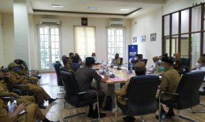 Pemerintah Daerah Bone Bolango rapat bersama Forkopimda