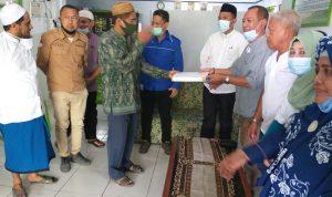 Gerakan Wakaf Qur'an SMPP SMA 3, Diapresiasi Plt Bupati Boalemo