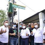 Hari Ulang Tahun HMI Ke-74 Walikota Gorontalo Resmikan Jalan Prof. Lafran Pane