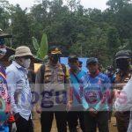 Jajaran Forkopimda Bone Bolango Meninjau Lokasi Tambang di Suwawa Timur