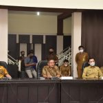 Forkopimda Kota Gorontalo Gelar Rapat di Gedung Aula Kantor Walikota