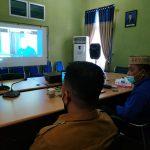 Ketua DPRD Kabupaten Bone Bolango saat Rapat Virtual