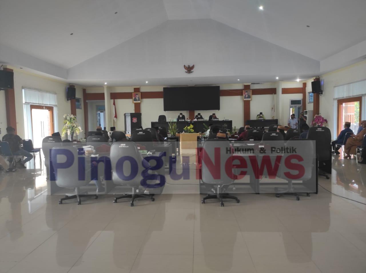 Rapat Paripurna DPRD Bone Bolango