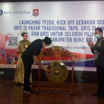 Peluncuran TP2DD sekaligus kick off gerakan 1.000 QRIS UMKM, QRIS di pasar tradisional Tapa, Qris di lingkungan Pemda dan QRIS untuk seluruh pajak distribusi di Kabupaten Bone Bolango, di gedung Bank Indonesia Perwakilan Gorontalo