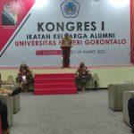 Eduart Wolok Membuka Kongres IKA UNG