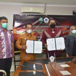 Rektor UNG Teken MoU dengan PN Gorontalo Kelas IA