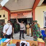 Bersama Forkopimda, Kapolres Bone Bolango Cek Pos Penyekatan Gorontalo -Bolsel