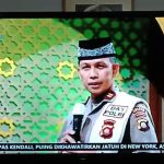 Kapolsek Tapa Ustadz IPTU Moch Atmal Juara I Da'i Polisi 2021
